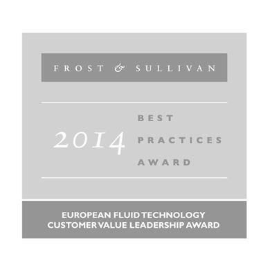 Frost & Sullivan 2014 best practices award
