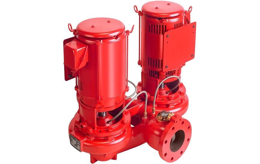 vertical in line dualarm pumps armstrong fluid technology 4382 vertical in line dualarm pumps