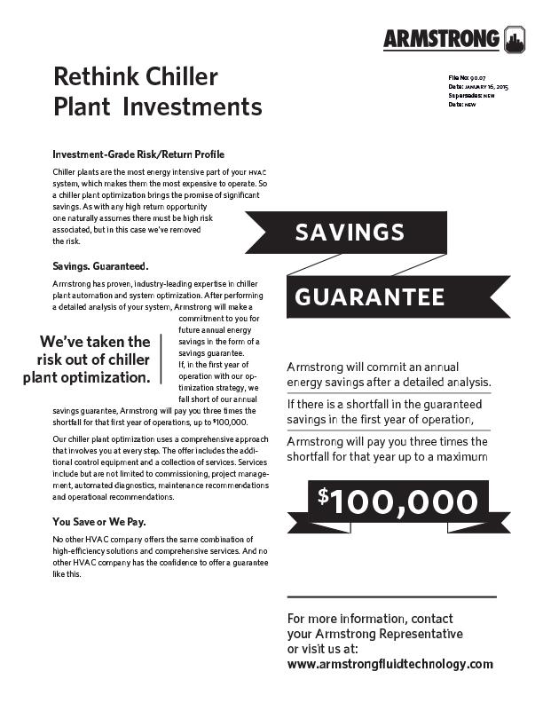 Savings Guarantee